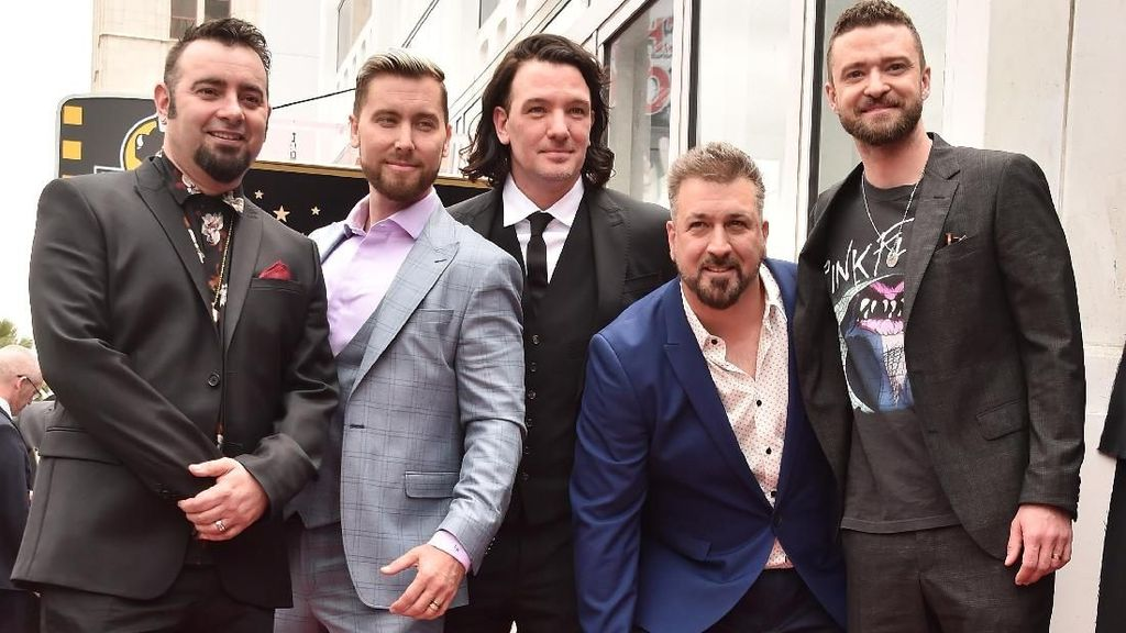 Trasformasi Gaya Nsync, Boyband Zaman Old Peraih Hollywood Walk of Fame