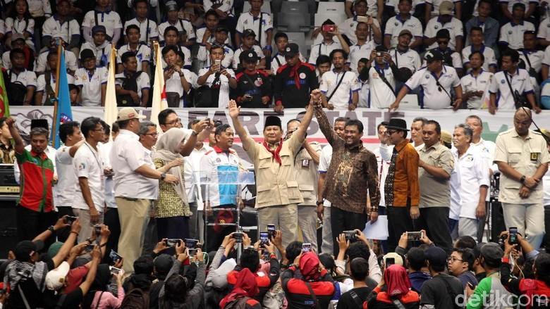 Gerindra Senang Prabowo Didukung Buruh KSPI