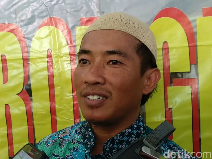 Syaiful Arif, mantan napi teroris diumrahkan gratis/Foto: Eko Sudjarwo