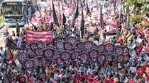 Ratusan Buruh Tangerang Bergerak ke Jakarta, Ini Rutenya