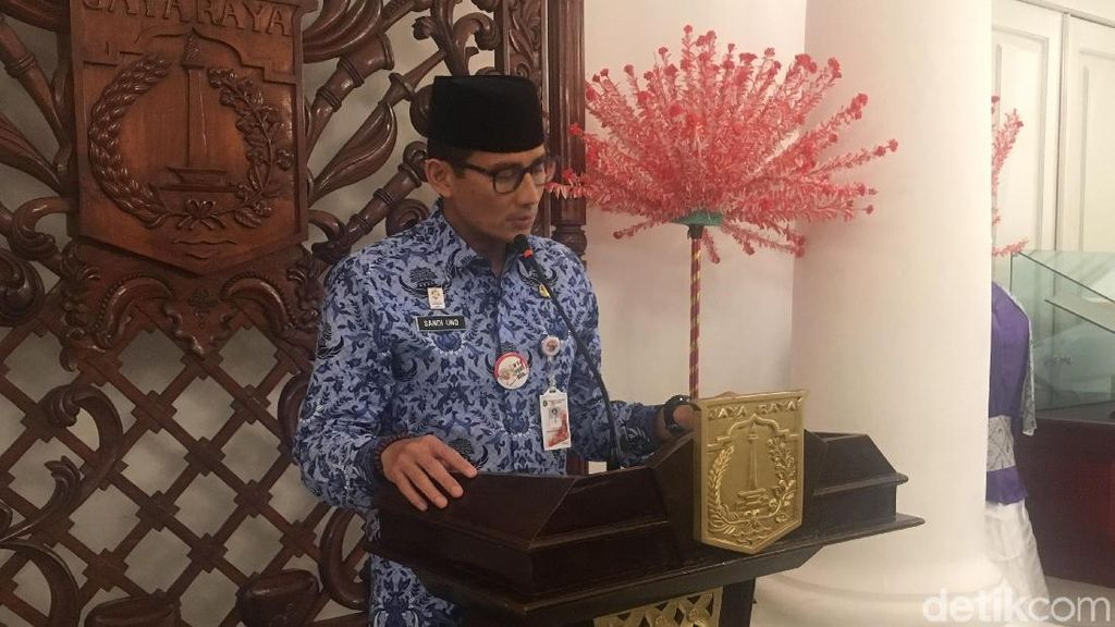 Sandi Minta PAM Jaya Laporkan Investigasi Tewasnya Pak Tarno Besok