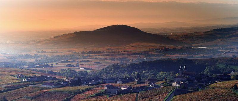 Geopark baru pertama yang diakui oleh UNESCO adalah Beaujolais di Prancis. Terbentuk sekitar 500 juta tahun lalu, Geopark Beaujolais juga dikelilingi oleh lanskap indah dan 12 perkebunan anggur (dok unesco.org)