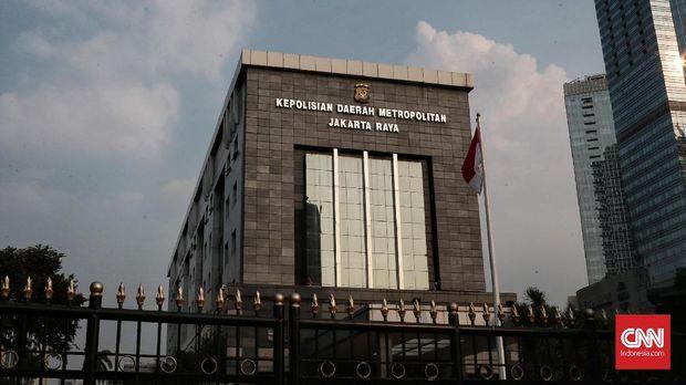 Gedung Polda Metro Jaya.