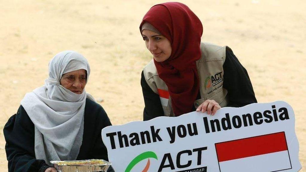 ACT: Banyak Warga Palestina Hafal Lagu Indonesia Raya
