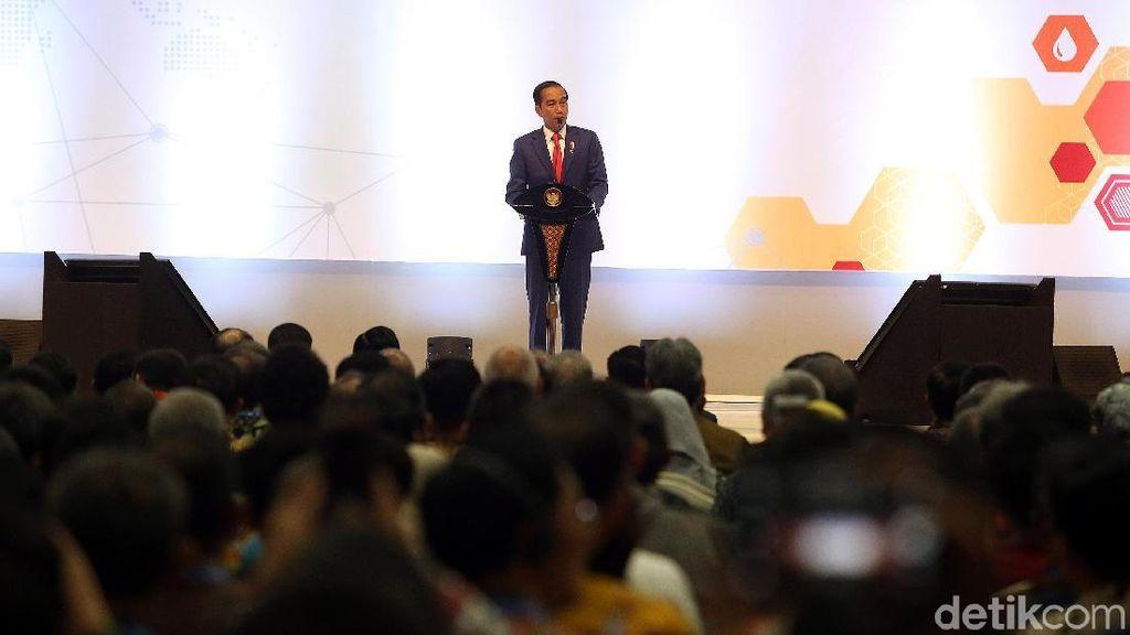 Presiden Jokowi Buka Pameran Migas di JCC