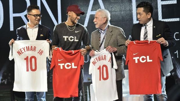 Bidik Penggemar Olahraga, TCL Rangkul Neymar