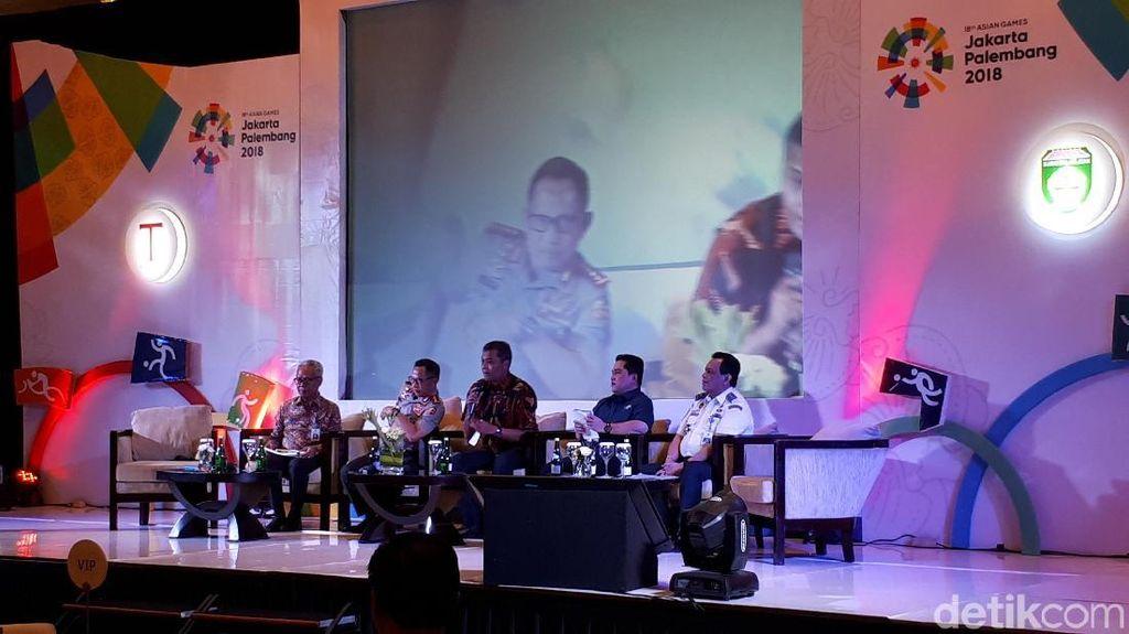 Menteri, Kapolri dan Erick Thohir Kumpul Bareng, Ada Apa?