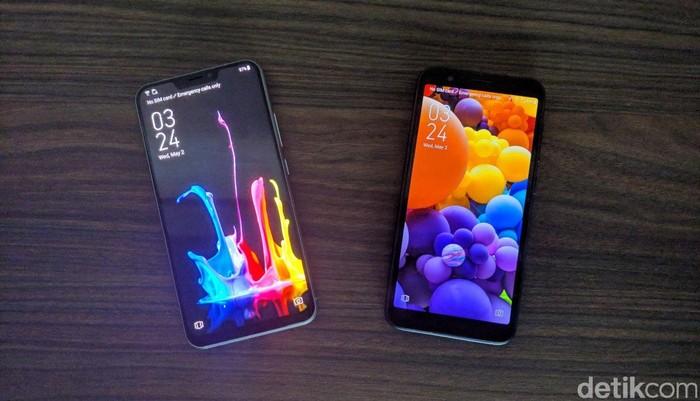 Zenfone 5 dan Zenfone Live L1. Foto: Adi Fida Rahman/detikinet