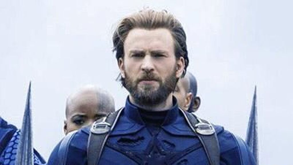 Jenggot Captain America yang Bikin Gagal Fokus di Avengers: Infinity War