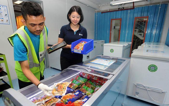 Seperti halnya produk yang dipasarkan, produk makanan beku ini juga bisa diantar hingga ke tempat tujuan melalui jasa kurir.Foto: dok. Blibli