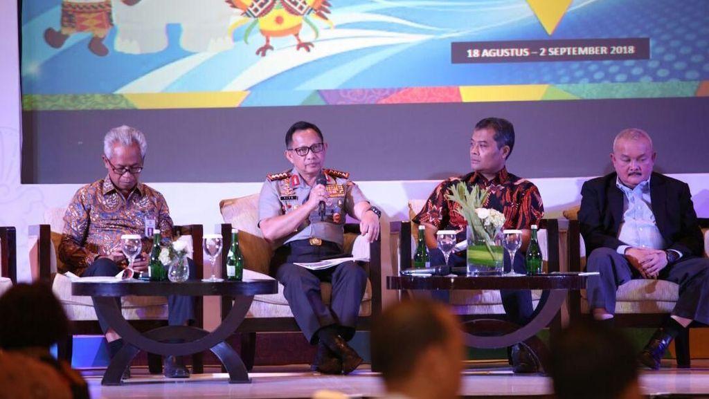 Polri Libatkan 36 Ribu Personel Untuk Amankan Asian Games 2018