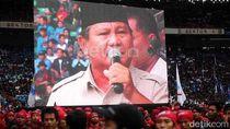 Kawal Prabowo ke KPU, Massa KSPI Kumpul di Patung Kuda
