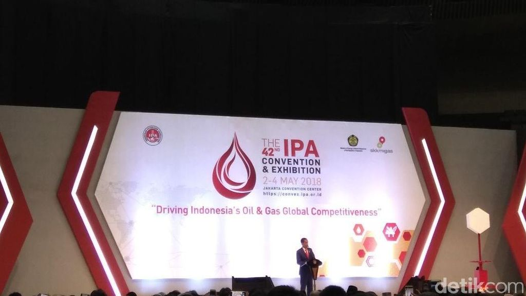 Buka Pameran Migas, Jokowi: Ini Industri Paling Elite