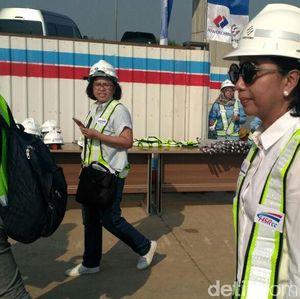 Rini Cek Proyek Kereta Cepat Jakarta-Bandung Bulan Depan