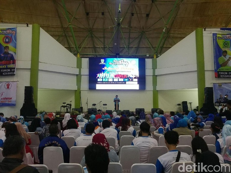 May Day, Buruh Tuntut Janji Ridwan Kamil-Oded M Danial