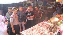 Jelang Lebaran, Polisi di Garut dan Tasik Sidak Pasar