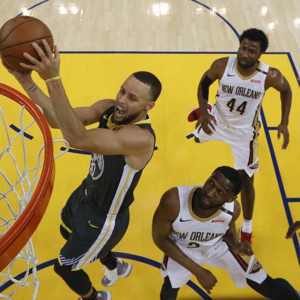 Curry Comeback, Warriors Kembali Kalahkan Pelicans