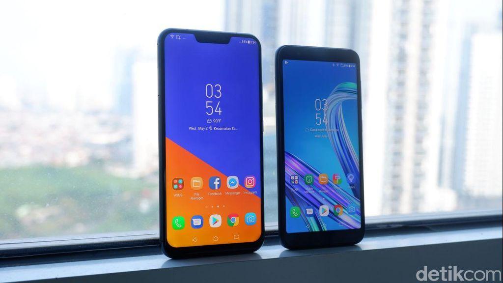 Kedua ponsel ini akan melenggang pada 17 Mei mendatang. (Foto: detikINET/Adi Fida Rahman)