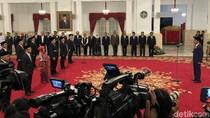 Jokowi Lantik 9 Anggota KPPU