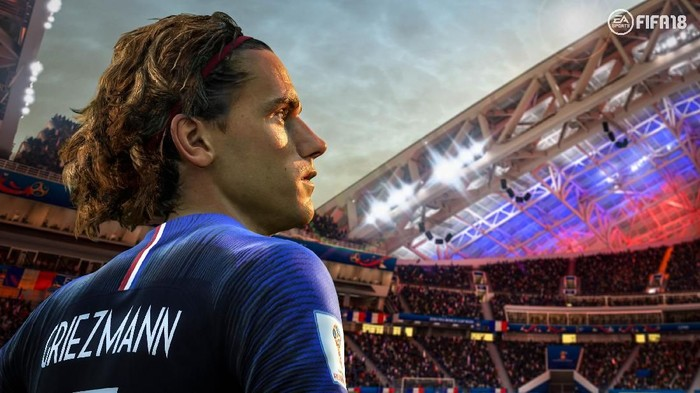 Antoine Griezmann berseragam Prancis. Foto: easports.com/fifa