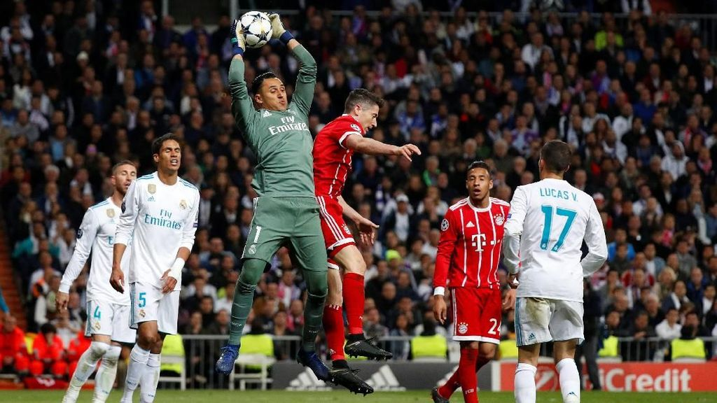 Imbang Lawan Bayern Munich, Real Madrid Lolos ke Final