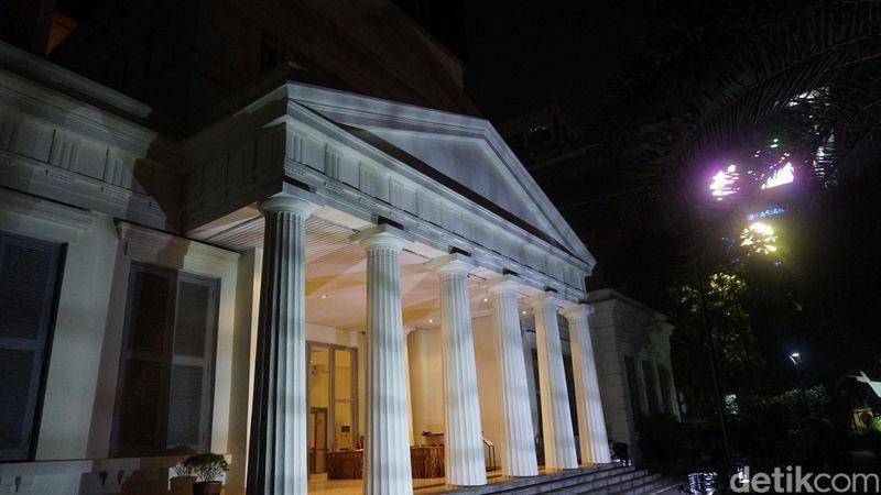 Inilah gedung baru dari Museum Nasional. Secara bentuk, tetap mempertahankan identitas seperti gedung sebelumnya (Shinta/detikTravel)