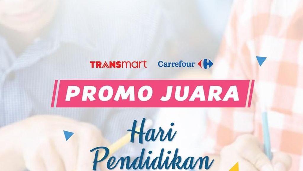 Hardiknas, Ada Promo Kebutuhan Sekolah di Transmart Carrefour