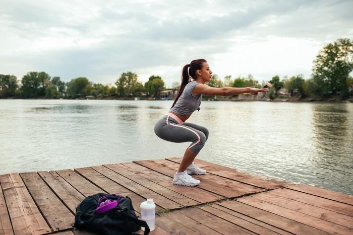 Olahraga semampumu tetap disarankan. Biar enggak bikin haus, lakukan menjelang waktu berbuka. Foto: ilustrasi/thinkstock