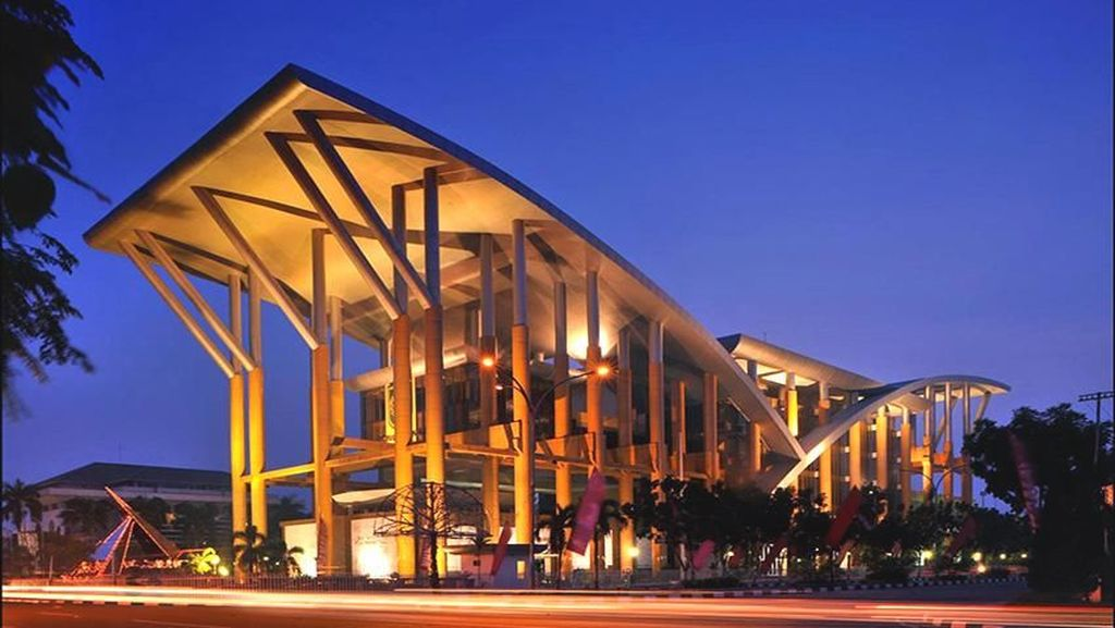 Perpustakaan Riau yang Termegah di Indonesia Nunggak Listrik