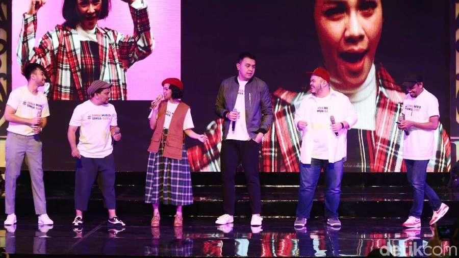 Para Musisi Berpatisipasi dalam Hari Pendidikan Nasional