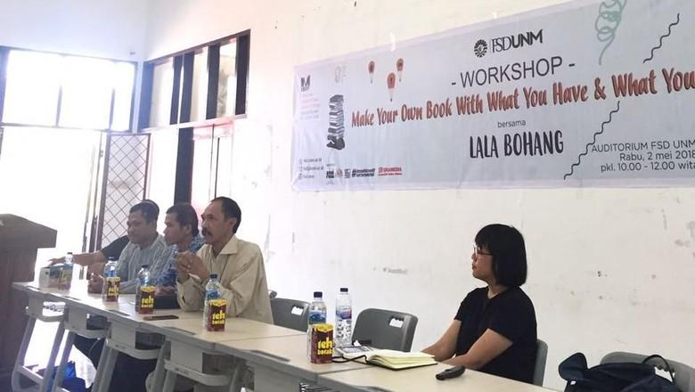 Lala Bohang hingga Ibe S.Palogai Luncurkan Buku di MIWF 2018