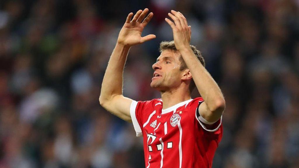 Mueller Buka Peluang Tinggalkan Bayern, ke MU?