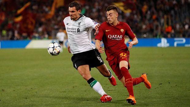 Liverpool lolos ke final Liga Champions setelah menyingkirkan AS Roma.