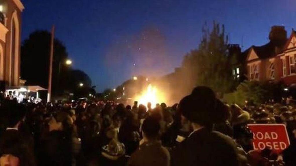 Festival Yahudi di London Diteror Ledakan, 30 Orang Luka
