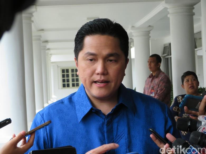 Erick Thohir Jadi Ketua Timses Jokowi-Maruf Amin