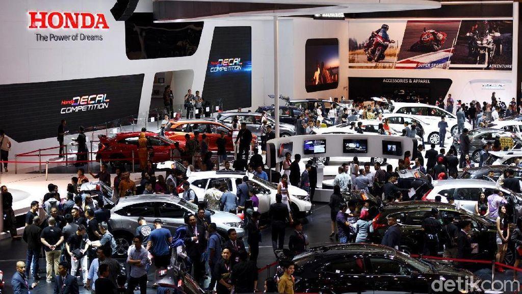 Honda Jual 3.661 Mobil di IIMS, Paling Banyak Brio