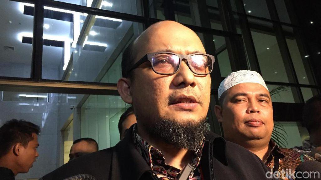 Novel Baswedan Kritik Pimpinan KPK soal Perlindungan Pegawai