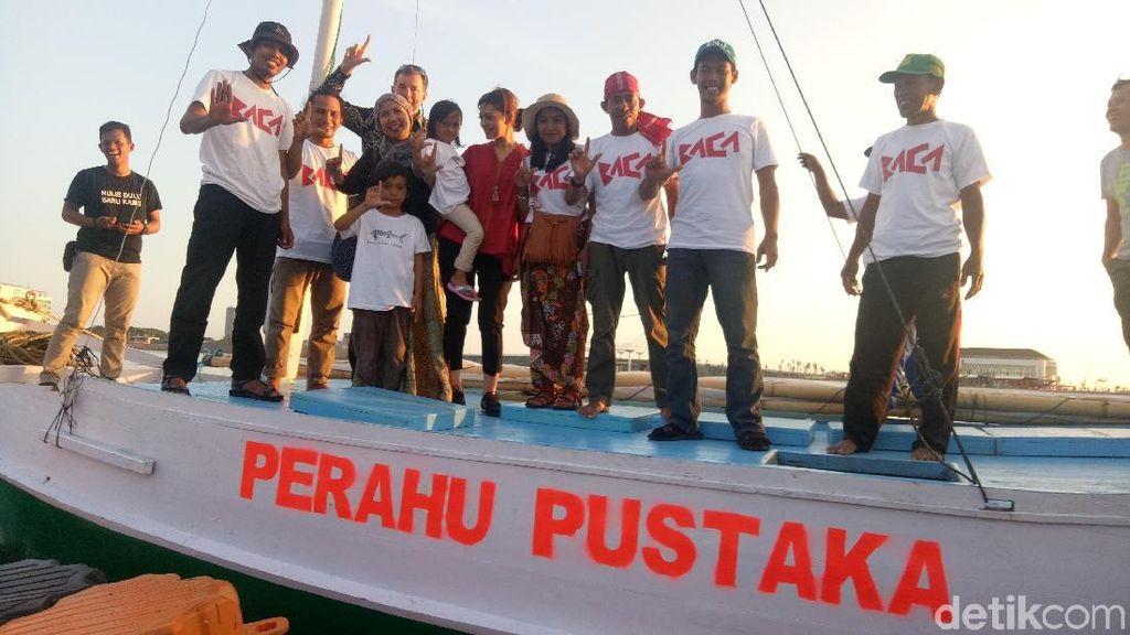 Perahu Pustaka Meriahkan Makassar International Writer Festival