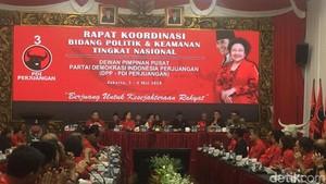 Buka Rakorbid, Megawati Minta Kader Jaga Nama Baik PDIP