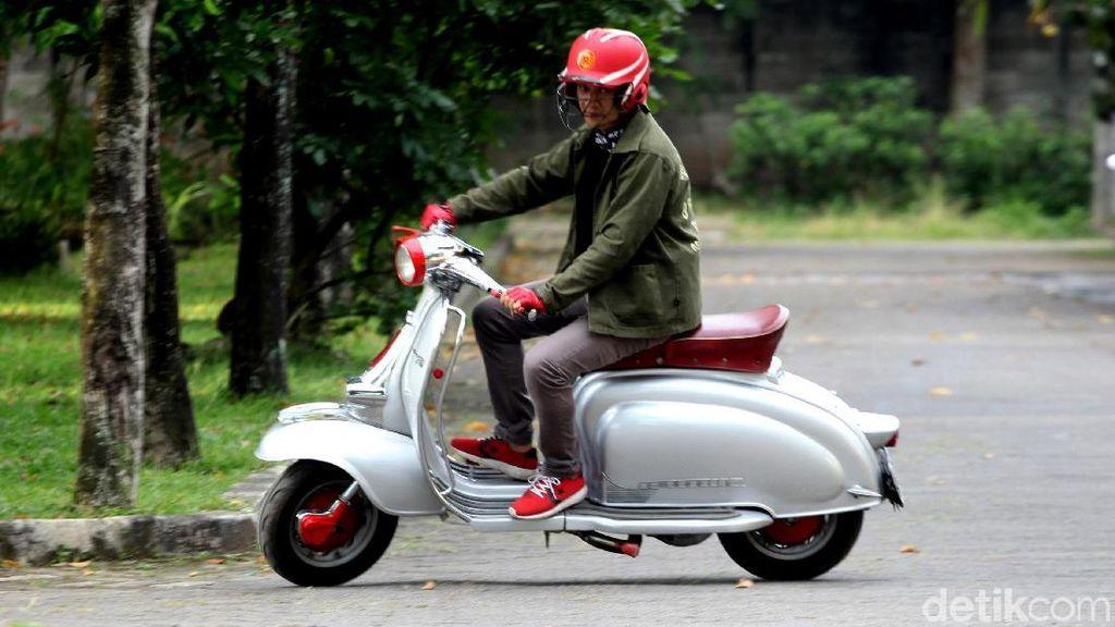 Denny Chasmala Belajar Motor dari Sang Istri, Sekarang Lebih Jago