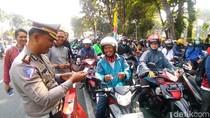Sepekan Operasi Patuh, 11 Ribu Pelanggar Lalin Terjaring di Surabaya