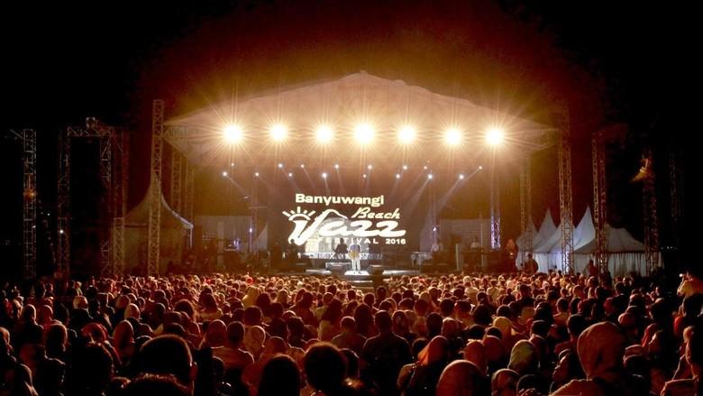 Foto: Banyuwangi Beach Jazz Festival (Ardian Fanani/detikTravel)