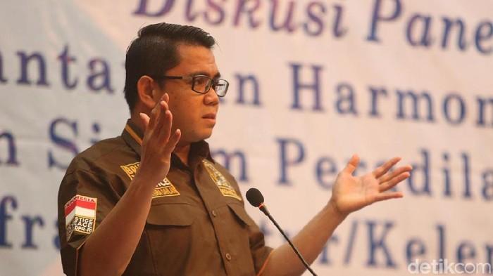 Politikus PDI Perjuangan Arteria Dahlan (Ari Saputra/detikcom)