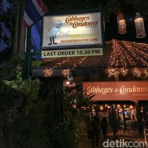Cabbages & Condoms, Restoran Unik Penuh Hiasan Kondom di Bangkok