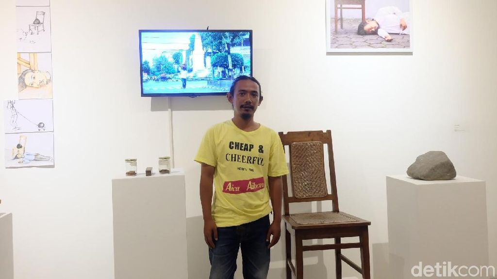 FJ Kunting Hadirkan Dua Karya di Pameran Biennale Manifesto 6.0