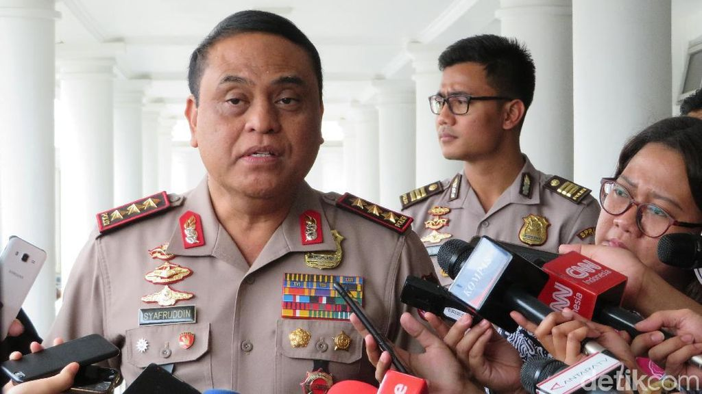 Wakapolri Siapkan Personel Cadangan untuk Asian Games 2018