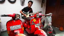 Dampak Pandemi, Denny Chasmala Jual Gitar dan Motor Kesayangan
