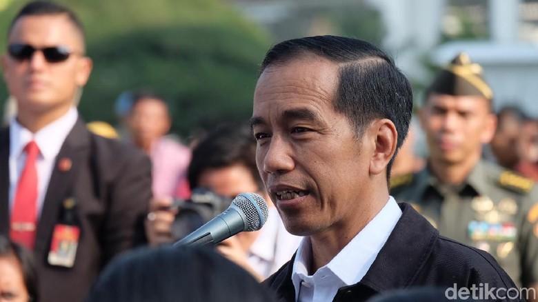 Di Depan Osis Sma Jokowi Silakan Kalau Ingin Jadi Presiden