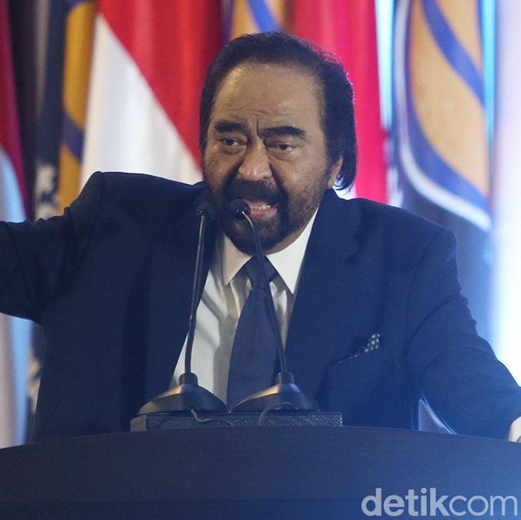 Yenny Wahid Dukung Jokowi, Surya Paloh Amat Bersyukur