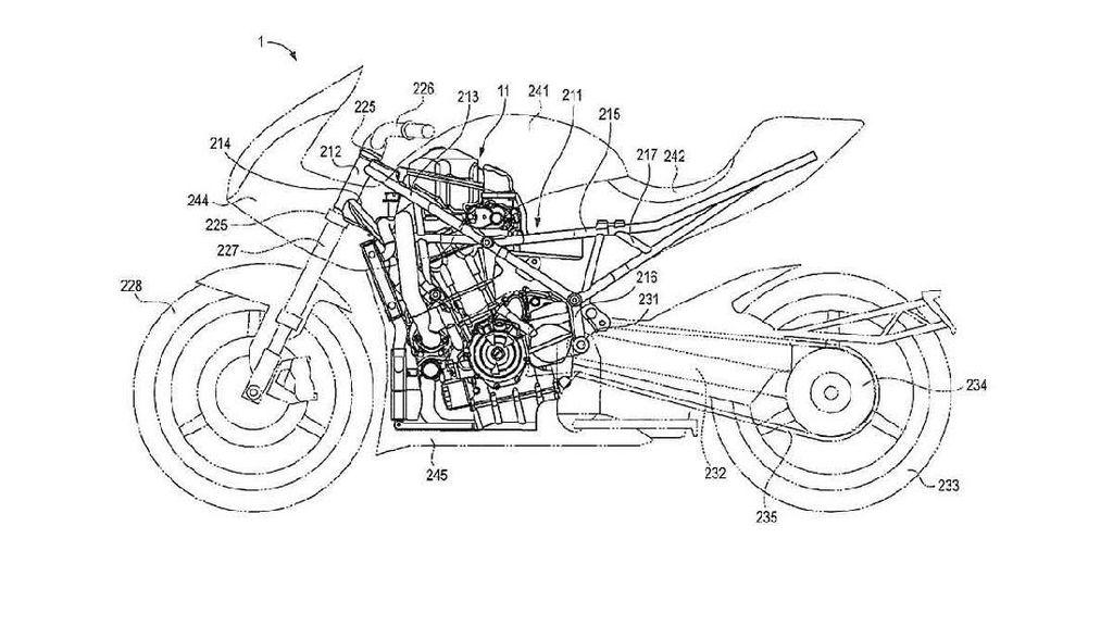 Suzuki Kembali Pamerkan Mesin Turbo buat Motor